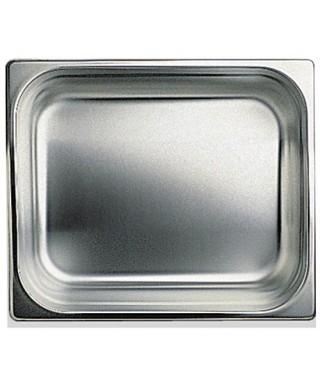 Cubeta GN inox, GN 1/2 altura 40 mm