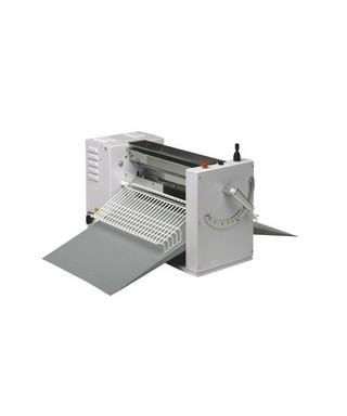 Laminadora de masa de sobremesa, cilindros L 500 mm, mesas L 700 mm, 1 velocidad