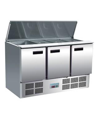 Mostrador de ensaladas refrigerado 368L Polar