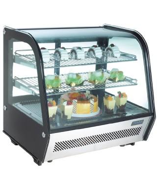 Enfriador expositor sobre mostrador refrigerado 120L Polar