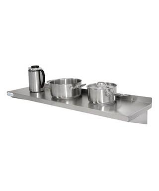 Estantería de cocina de acero inox  1800x300 mm Vogue