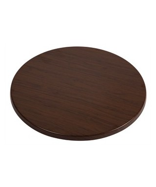 Werzalit Round Table Top Oak Effect 800mm