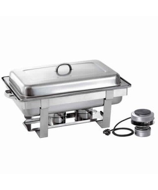 Chafing dish eléctrico, 1x GN 1/1 altura 65 mm