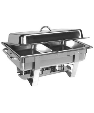 Chafing dish, 2x GN 1/2, altura 65 mm