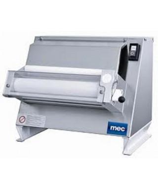 Formadora laminadora con 1 rollo paralelo para pizzas ø 26-30 cm