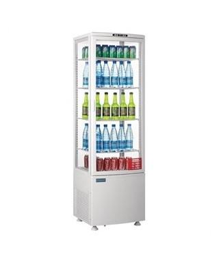 Refrigerador expositor puerta curva 235L