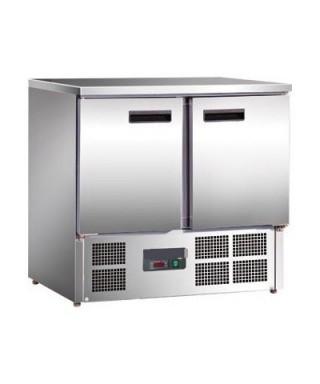 Refrigerador mostrador compacto 2 puertas 240L