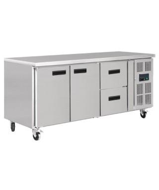 Refrigerador 2 puertas 2 cajones 417L