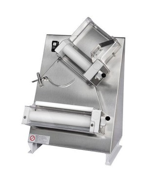 Formadora laminadora con 2 rollos para pizzas ø 26-40 cm