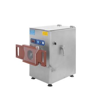 Picadora de carne y prensa hamburguesas, boca ø 80 mm, 350 kg/h