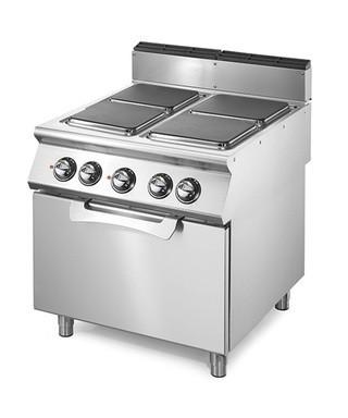 Cocinas a Gas de 4 Fuegos (10,4 kW) con Horno Eléctrico (3Kw)